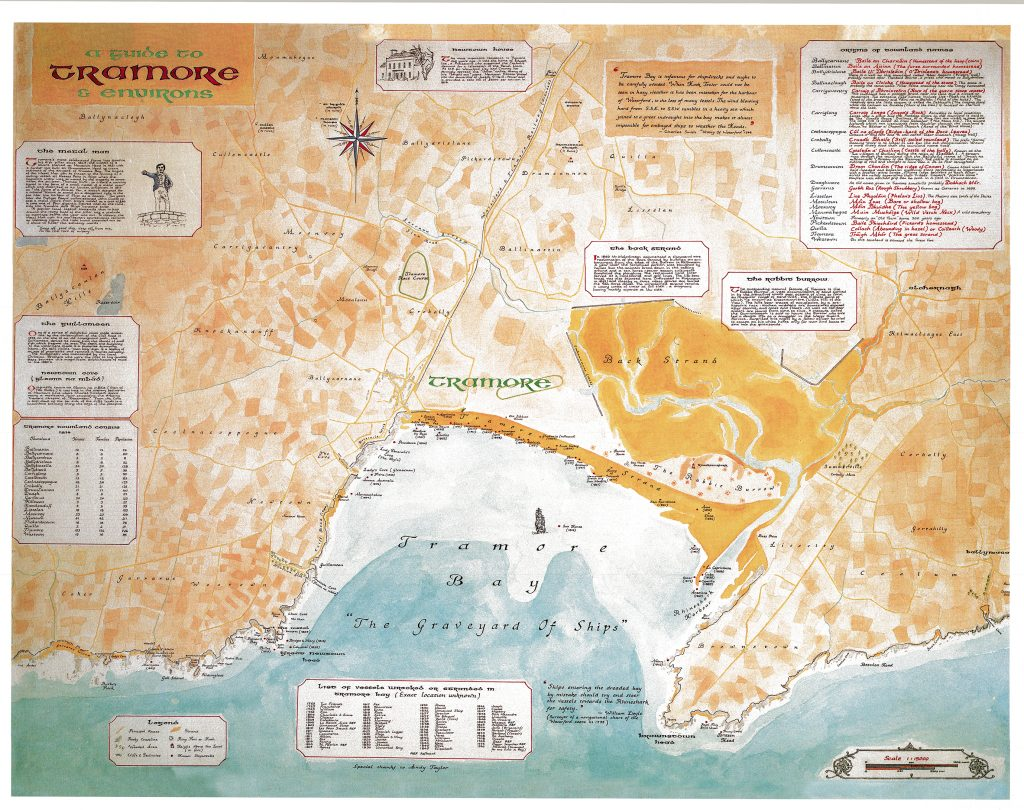 Tramore Ships in Bay Map